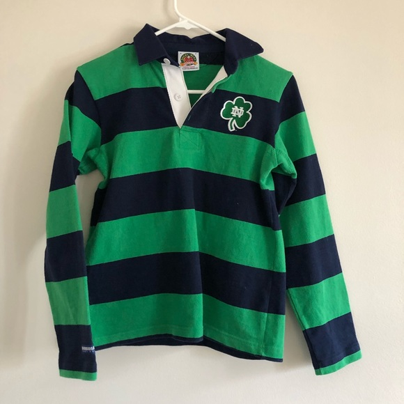 on sale fc884 2f178 Notre Dame Barbarian Rugby Wear Inc polo shirt